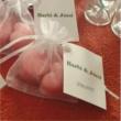 Rózsafaolajos szappanszív duó