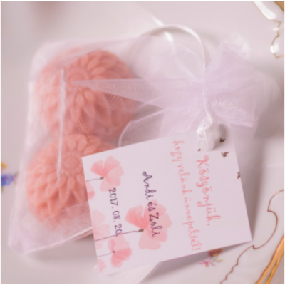 Rózsafaolajos szappanvirág duó