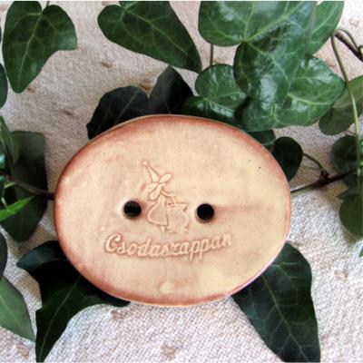Kerámia szappantartó - bézs